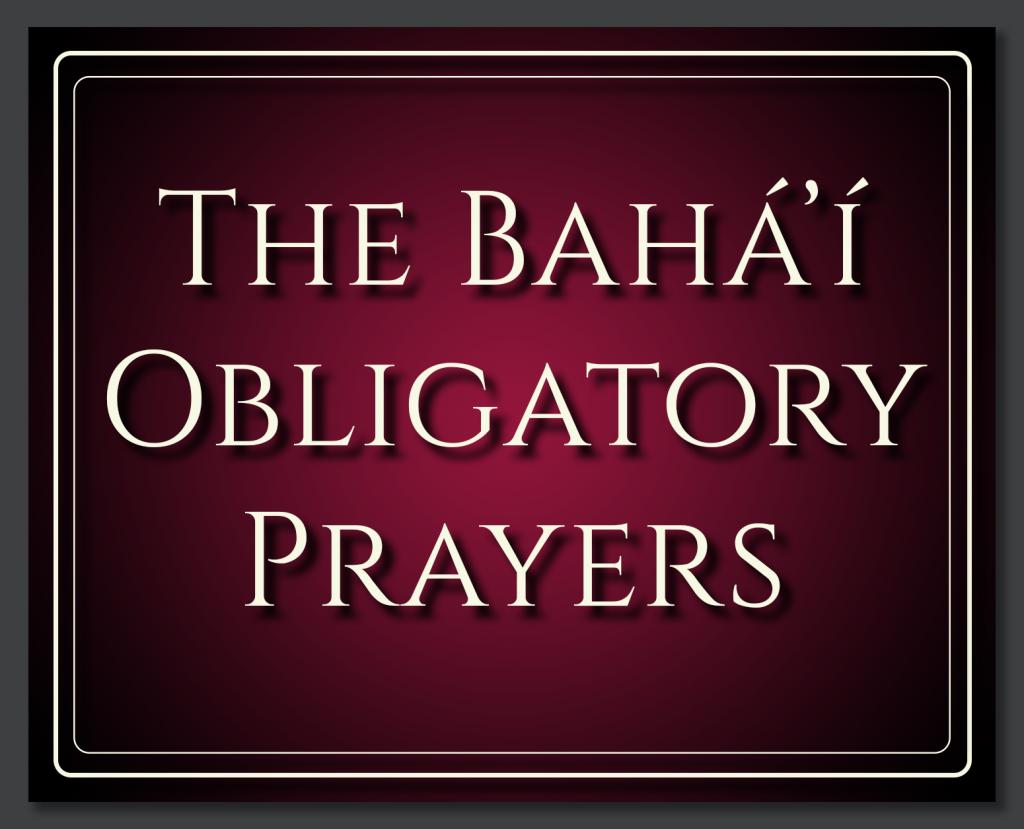 Obligatory-Prayers