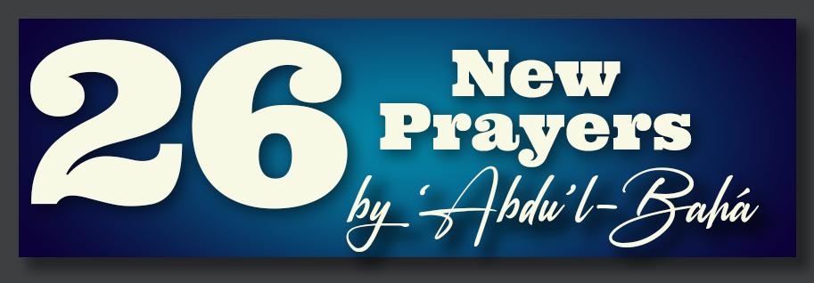 26 New Prayers