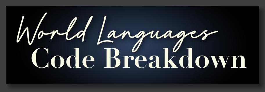 World Languages Codes